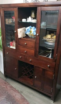 China cabinet with dining table  Surrey, V3W 4C8