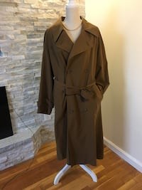 Yves Saint Laurent Womens Trench Coat Size 38 Petit NWT Lynn, 01905