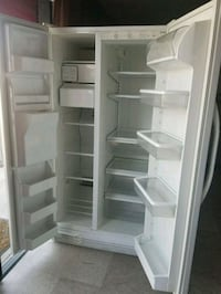 white side-by-side refrigerator Bakersfield, 93307