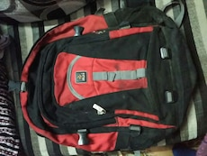 black and red Rusi backpack