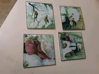 Glass coasters Wichita, 67206