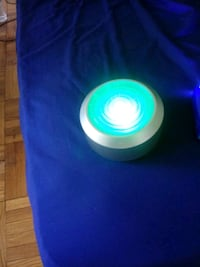 speaker in portable chargers with flash light