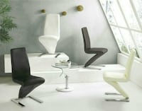 European Chairs with Chrome base- set of 4 Richmond Hill, L4S