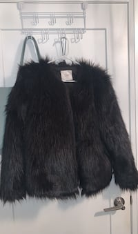 Faux fur jacket s