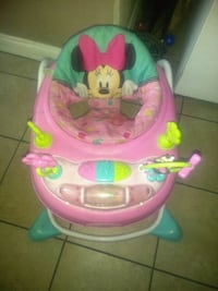 baby's pink and teal Minnie Mouse walker Stockton, 95205