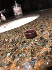 Cocobolo wooden ring hand crafted Vaughan, L0J 1C0