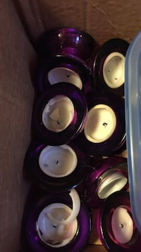 Purple tea light holders Ottawa, K1G