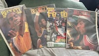 four assorted NBA basketball magazines Detroit, 48219