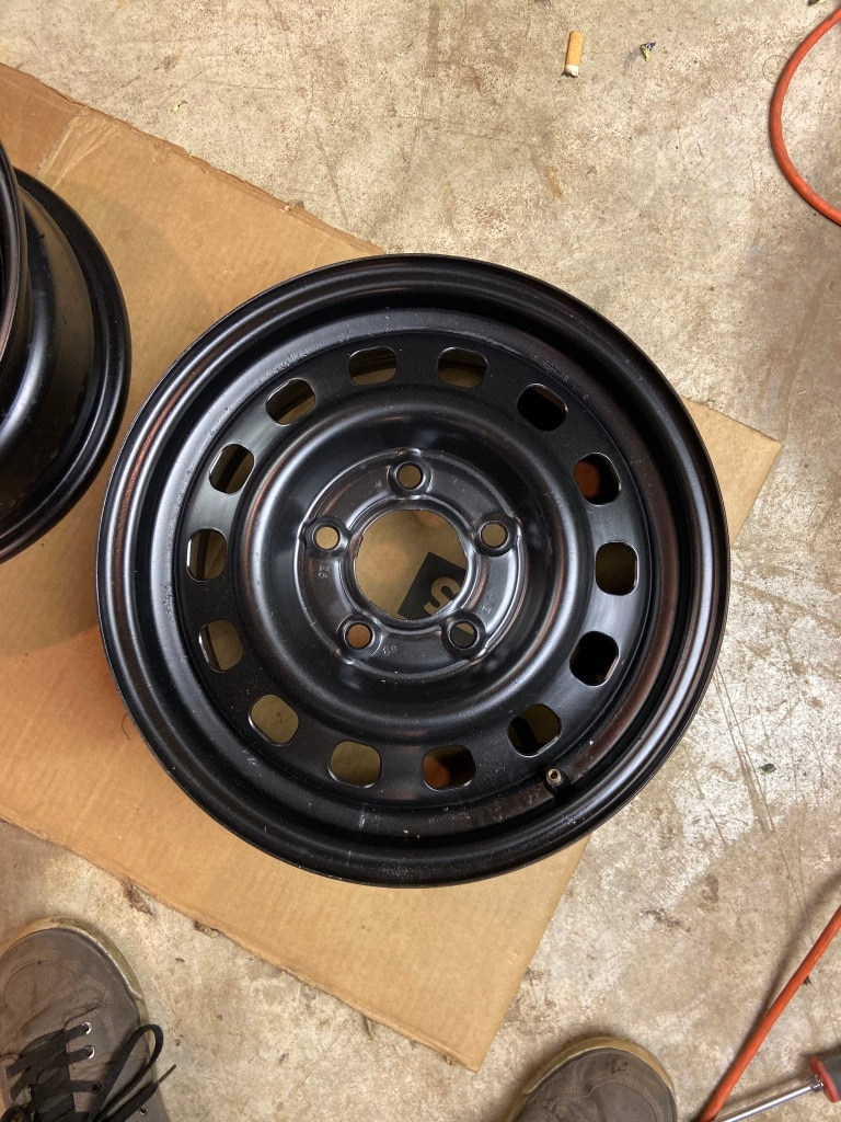Photo Small car/trailer rims