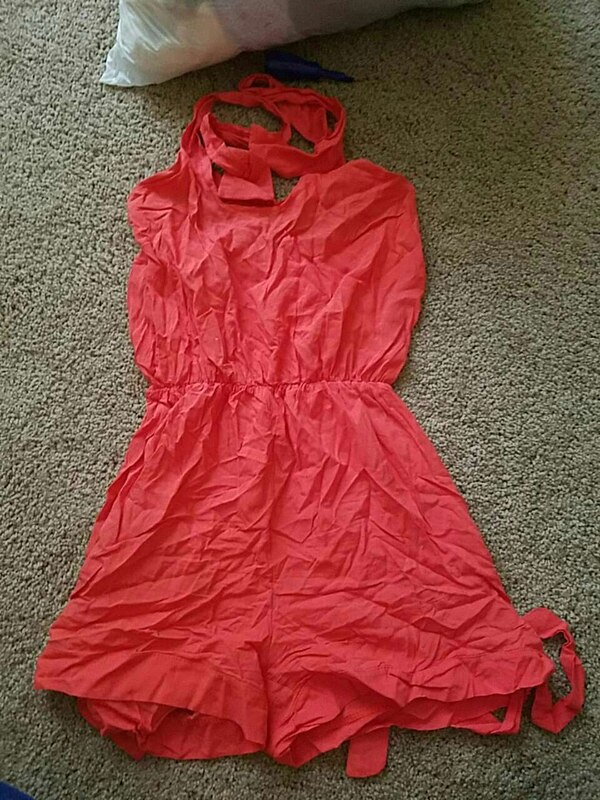 273466aa0a Used women s red halter top dress for sale in Lakewood - letgo