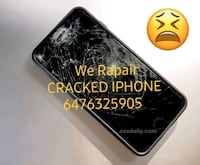 Cracked iPhone screen Replacement We come To You Brampton, L6R 2S8