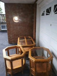 (3 psc set) coffee table + 2 side tables $1 Vaughan, L4L 1G2