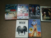 assortiment de film DVD lot de 6 DVD