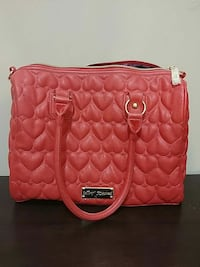 Betsey Johnson Heart Purse - never used