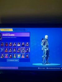 CUENTA CHETADA DE FORTNITE CON SKULL TROOPER Madrid, 28010