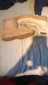 Tan Army Boots size 10.5 Vienna, 22182