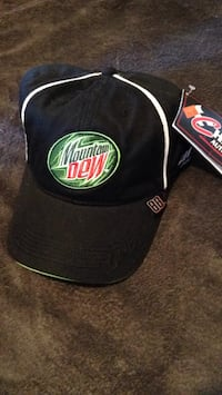 First authentic Dale Jr. Mountain Dew NASCAR cap Pearl, 39208