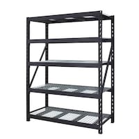 black metal 4-layer rack Vienna, 22182