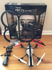 Parrot Drone AR 2.0 w/ Extras