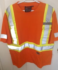 High Visibility Safety T shirt by Pioneer Size XL London