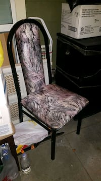 80's style dining chair