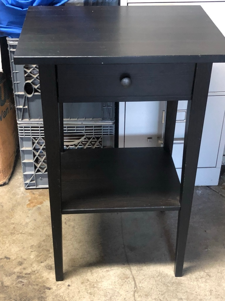 used ikea hemnes night stand one only for sale in daly city letgo rh gb letgo com