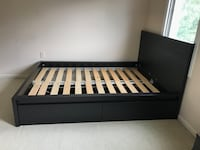 IKEA Malm Full Bed with storage Tysons
