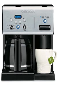 Cuisinart Coffee Plus 12Cup Programmable Coffeemaker Hot Water System Mississauga, L5M 7C3