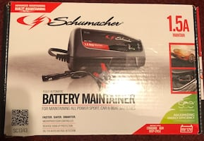 Battery charger/ maintainer.. like new