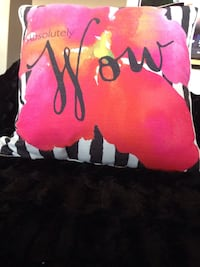 pink and multicolored Absolutely Wow printed throw pillows  Peoria, 85373