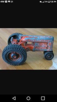 Hubley Jr toy tractor