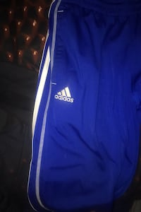 Blue and white Adidas tracksuit (pants only) Toronto, M6L