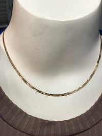 "10k Gold Necklace 4.6 grams 16.5""  St Catharines, L2N"