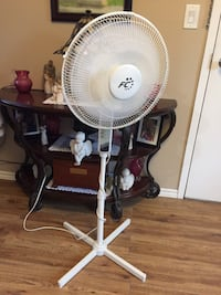 Three speed osculating fan