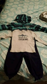 18-24 month fleece toddler outfit 3120 km