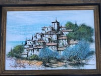 Large original painting Cathedral City, 92234