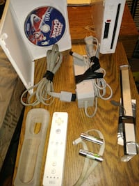 Wii system with accessories