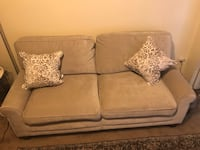 """New beige large sofa 71"""" long 35"""" hight with 2 pillows click on my profile picture on this page to check out my other listings message me if you interested pick up in Gaithersburg Maryland 20877 all sales final  Gaithersburg, 20877"""