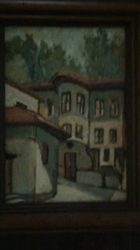 Oil painting on board Alexandria, 22309