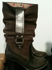 Brown suede and leather boots size 7 and 1/2 Nashville, 37211