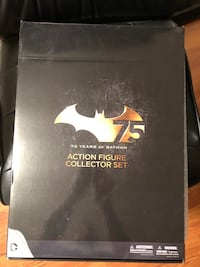 75th Anniversary Batman Action Figure Collection Stafford, 22554