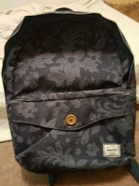 black and gray floral backpack Maple Ridge, V2X