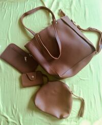 women's brown leather shoulder bag Alexandria, 22315