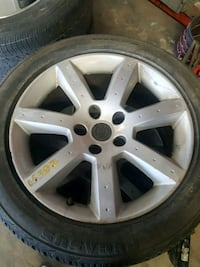 2005 Nissan 350z rims and tires 17 inches  Las Vegas, 89156