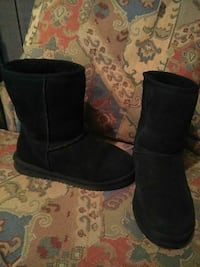 pair of black suede boots Wilson, 27893