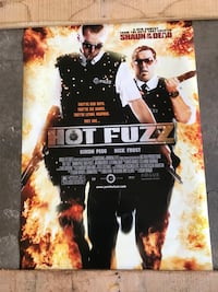 """Hot Fuzz Official Movie Poster (40"""" x 27"""") Saint Charles, 63303"""