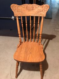 Solid oak chairs Calgary, T2S 1R8