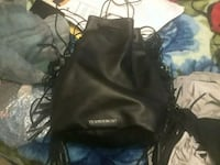 black leather 2-way bag Winnipeg, R2G 2C4