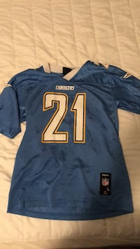 Ladanian Tomlinson Chargers NFL Football Jersey Herndon, 20171