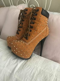 Brand new spiked boots  Toronto